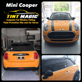 Mini Cooper at Tint Magic Window Tinting Coral Springs