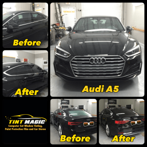 Audi A5 at Tint Magic Window Tinting Coral Springs