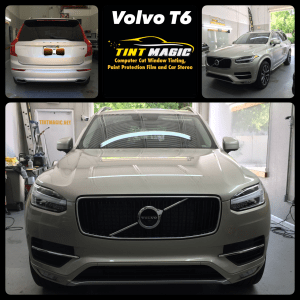 Volvo T6 window tinting at Tint Magic Coral Springs