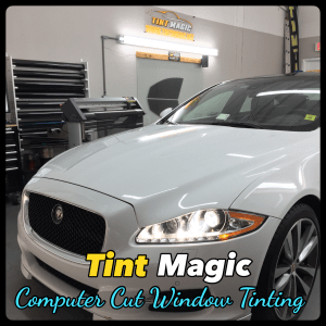 Jaguar XJ at Tint Magic Window Tinting Coral Springs