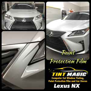 Lexus NX Paint Protection Film -Clear Bra at Tint Magic Window Tinting Coral Springs