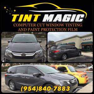 Honda Odyssey Window Tint at Tint Magic Window Tinting Coral Springs