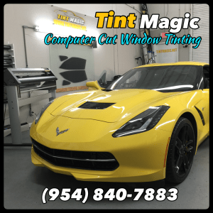 Chevrolet Corvette at Tint Magic Window Tinting