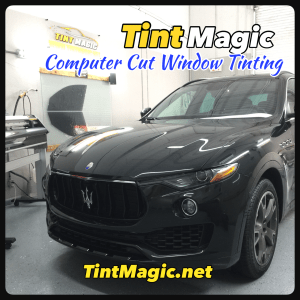 Maserati Levante Window Tint at Tint Magic Window Tinting Coral Springs