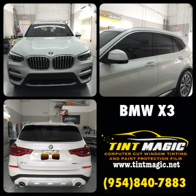 BMW X3 Window Tint at Tint Magic Window Tinting
