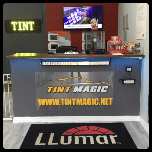 Tint Magic Window Tinting front desk