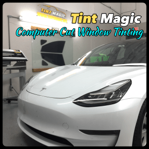 Tesla Model 3 at Tint Magic Winodw Tinting