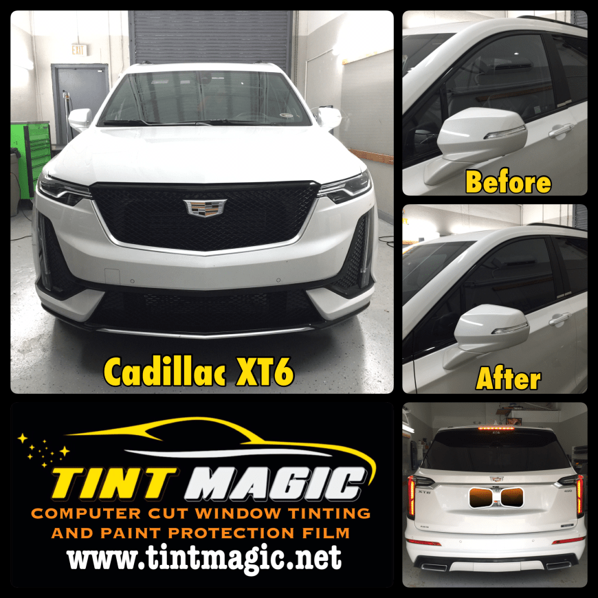 Cadillac XT6 at Tint Magic Window Tinting Coral Springs