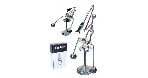 Fisherman Silver Balancing Mini : Balance Wire Metal Chrome