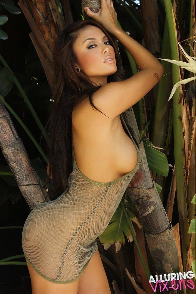 Alluring Vixens HOT busty Asian Justene  Tiny Naked Asians