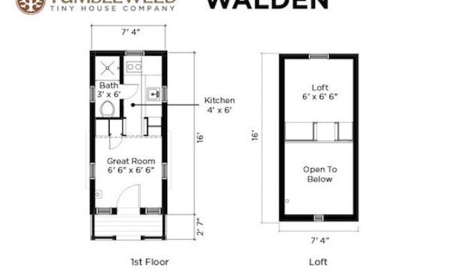 Walden Tiny House With Dormers