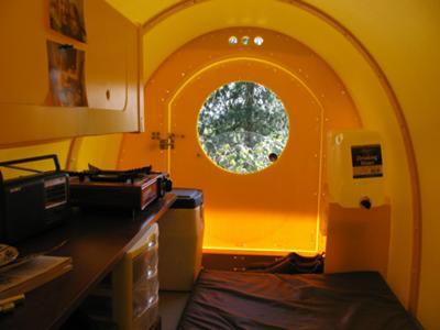 Mini Quonset hut