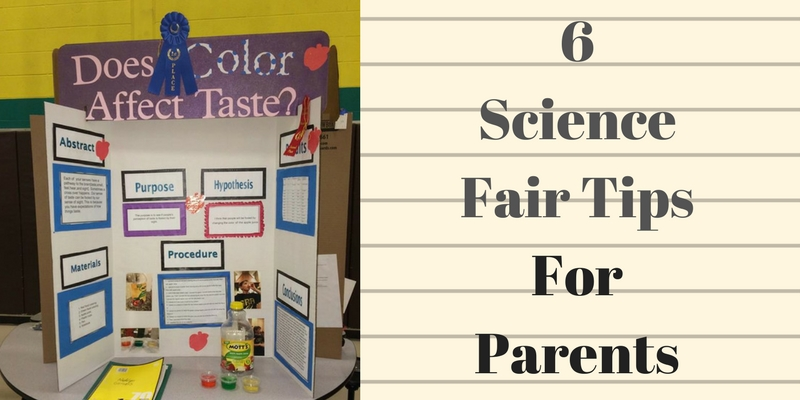 Science Fair Tips for Parents