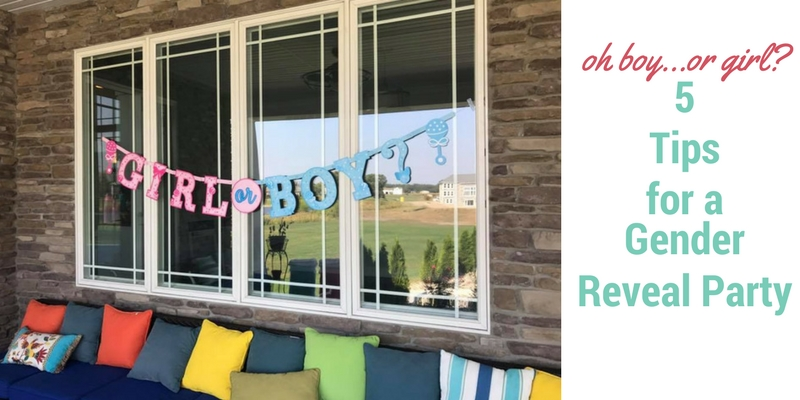 Oh Boy..or Girl? Tips For A Gender Reveal Party