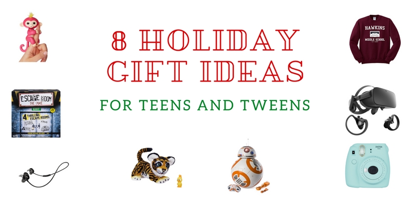 8 Holiday Gift Ideas for Teens/Tweens