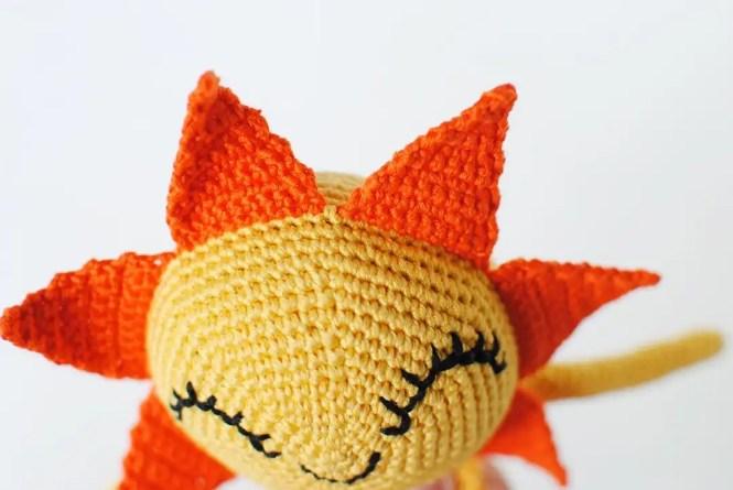Sun Doll Free Amigurumi Crochet Pattern