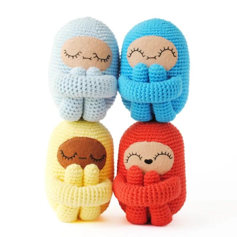 Curlie Doll Amigurumi Crochet Pattern