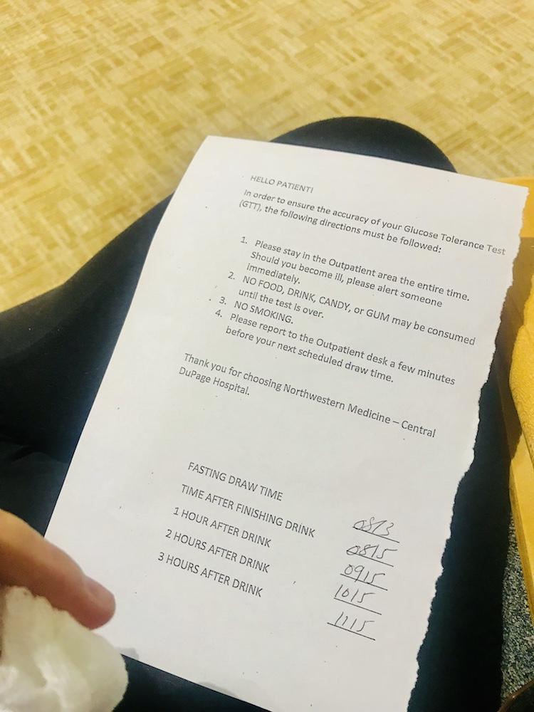 Tiny-Footprints-Blog-Glucose-Test