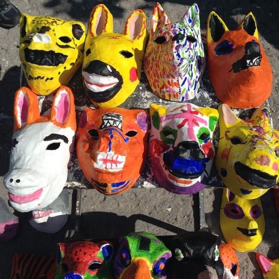 Paper Mache Masks
