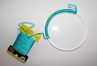 Dreamcatcher hoop