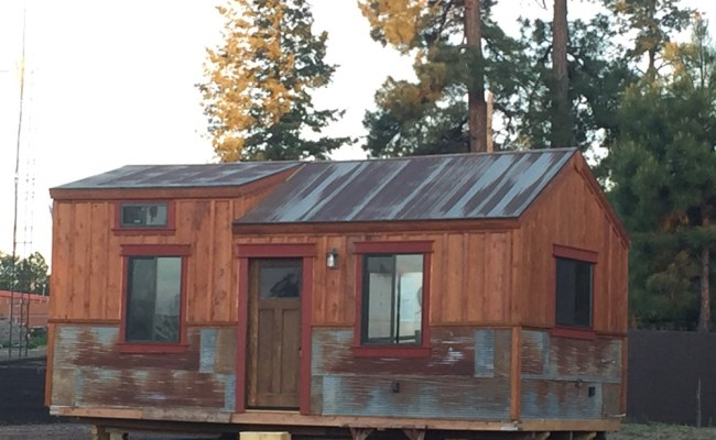 Tiny House For Sale Vintage Style Tiny Home Built On