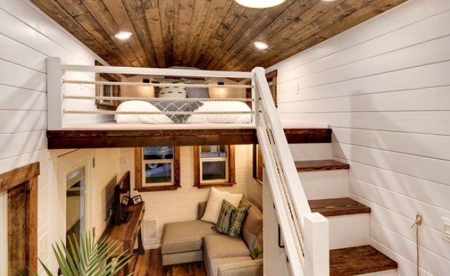 Tiny House For Sale Rustic Meets Luxury 30ft Loft Edition