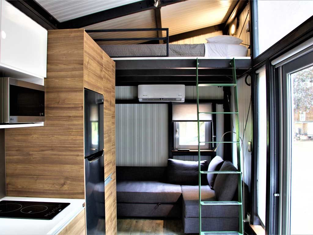 Steelgenics Tiny Home Interior