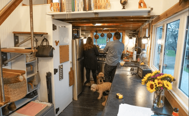 The Cook S Essential Tiny House Kitchen Tiny House Basics