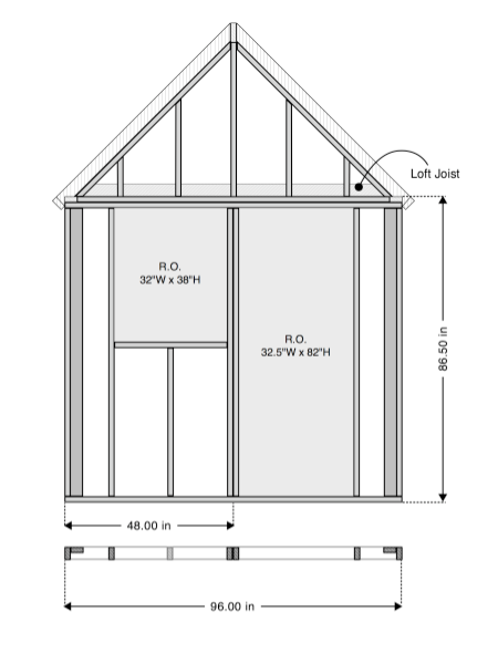 Free 8 8 tiny house plans for 8x8 house plans