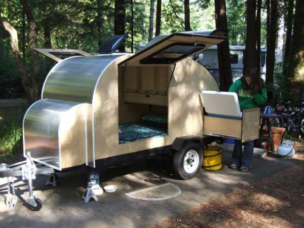 A Collection Of Custom Teardrop Trailers