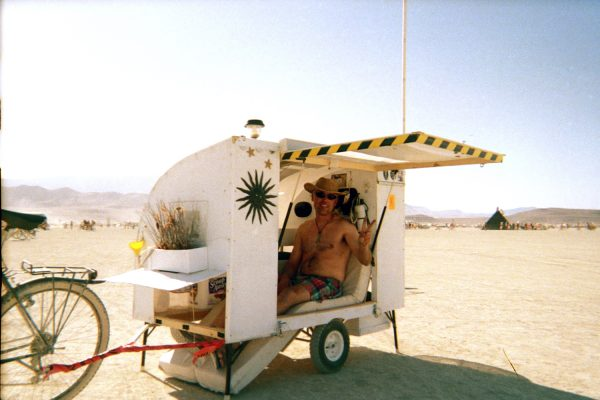 A Real Bike Trailer House burningman