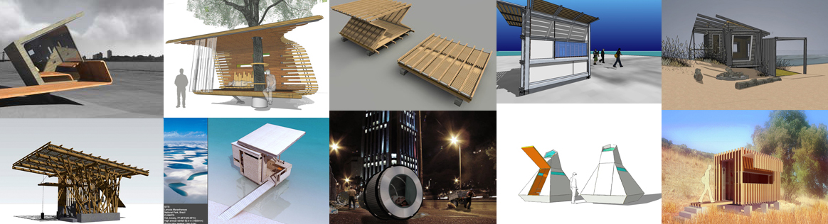 Design it shelter competition finalists for Small house design competition