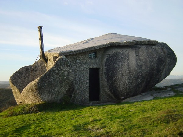 rock house front