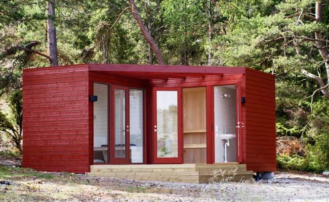 Compact Cabins From Sweden