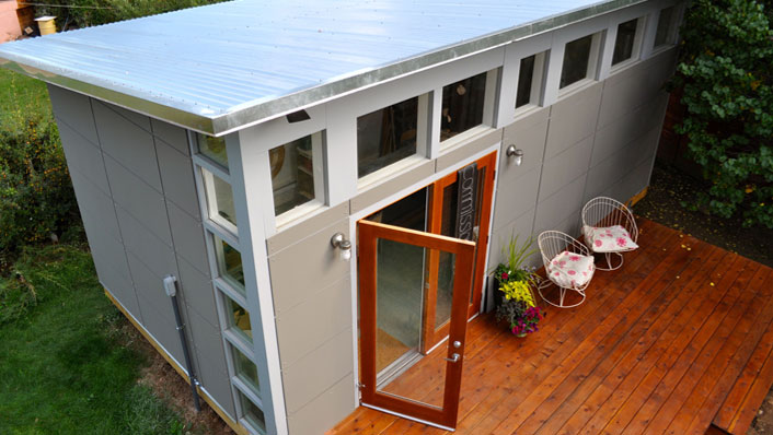 Studio Shed - Prefab backyard office