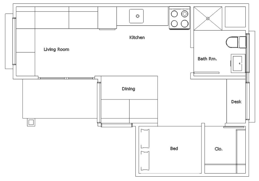 Tiny Home Designs Plans: Usonian Inspired House Plans