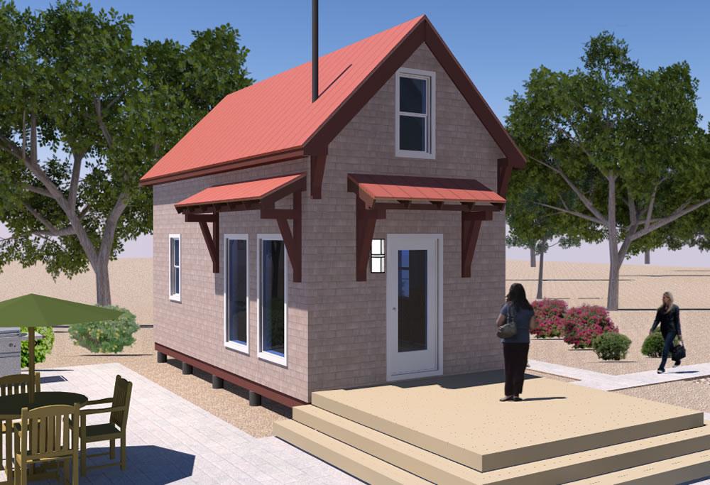Homesteaders Cabin v2  Updated Free House Plan