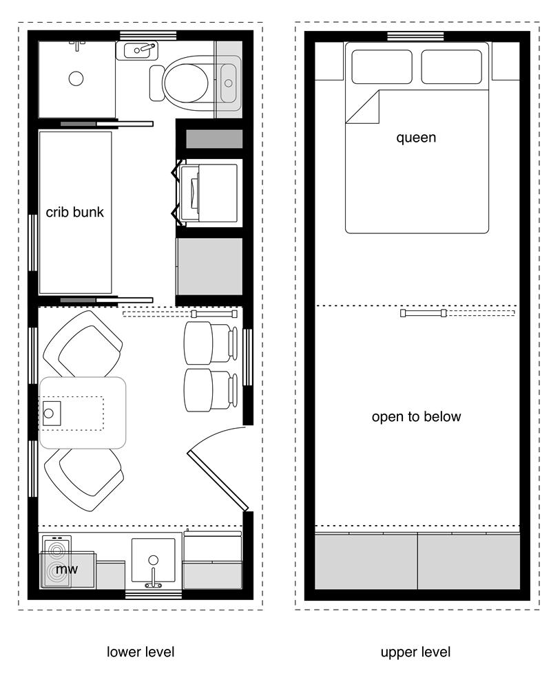Family tiny house design for Best tiny house plans