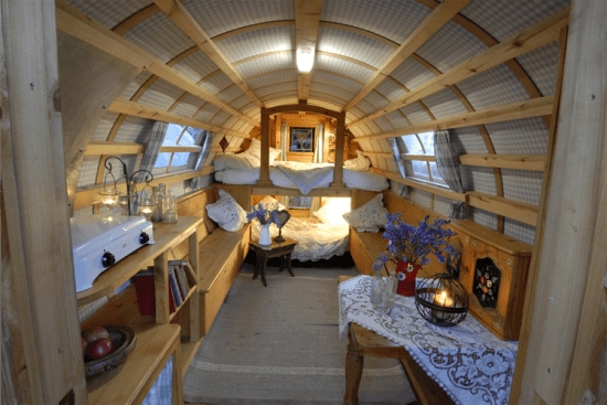 Gregs Gypsy Bowtops - Interior