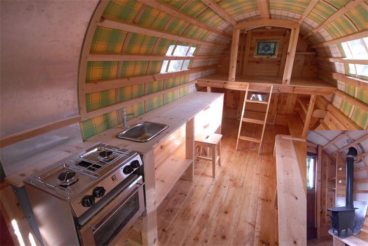 Gregs gypsy bowtops for Interior caravan designs