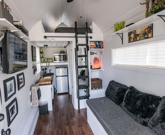 Mendy's Tiny House - Interior