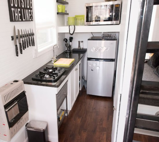 Mendy's Tiny House Kitchen