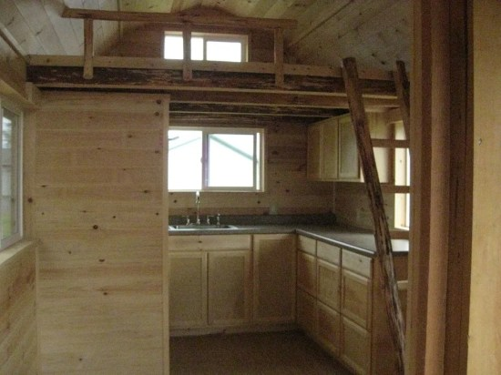 Rough Cut Sheds Interior
