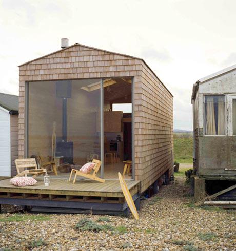 beach chalet - exterior