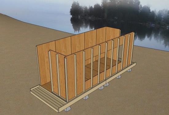 Uncut Tiny House v3 10 Wall Panels