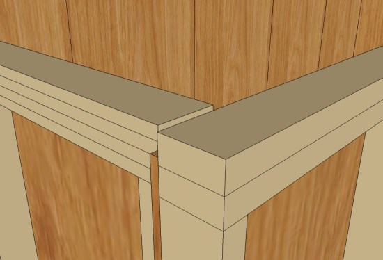 Uncut Tiny House v3 13 Wall Top Second Plate Detail