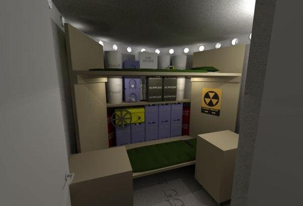 Spiral Shelter - Interior Shelter