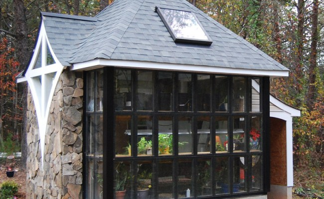 Jeff S Cabin Greenhouse Tiny House Design