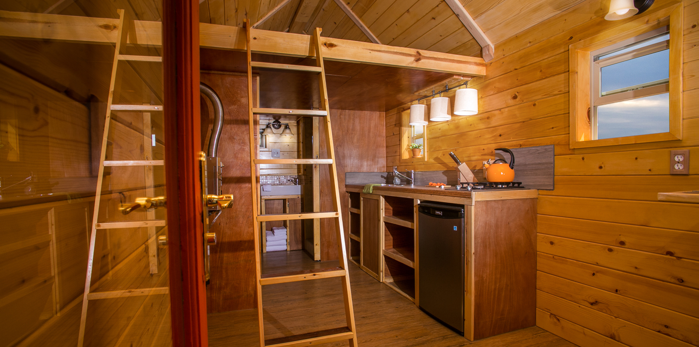 Monarch Tiny Homes   Interior View