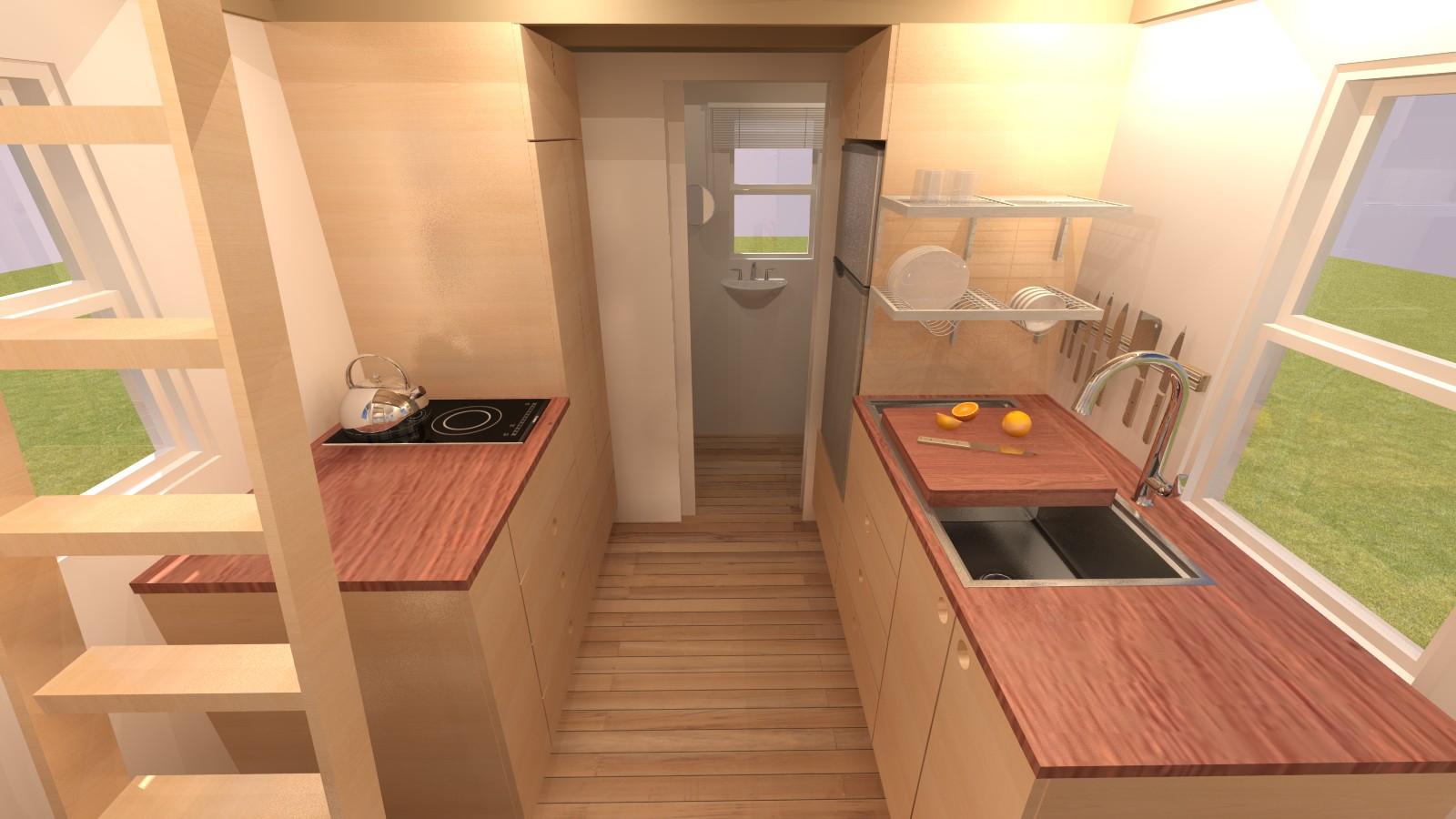 Albion 16 Interior - Kitchen
